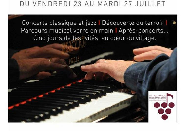 Concert Hommage Ivry Gitlis à Meursault