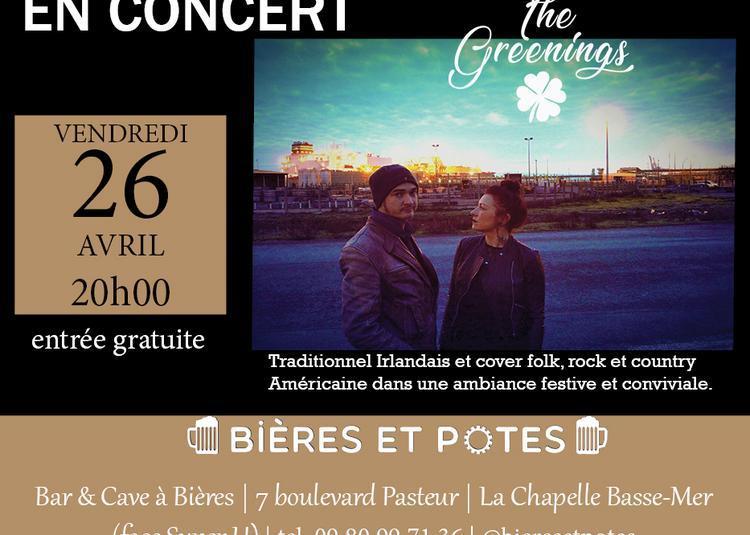 Concert Irish n'roll des Greenings à la Chapelle Basse Mer à La Chapelle Basse Mer
