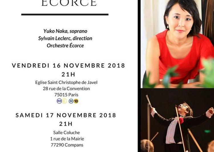 Concert italien de l'Orchestre Ecore à Compans