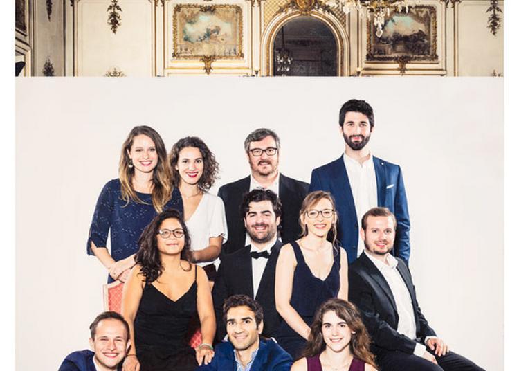 Concert Jeunes Chanteurs De L'opéra Studio De L'opéra National Du Rhin à L'ena à Strasbourg