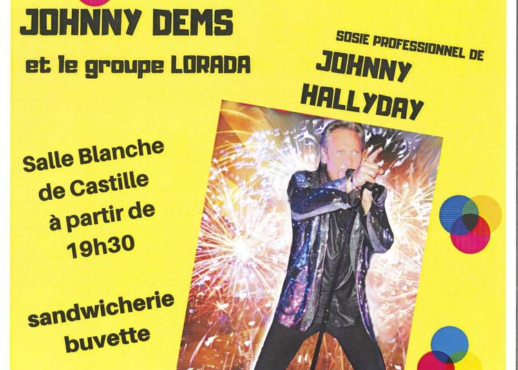 Concert Johnny Demset le groupe Lorada à Lorris