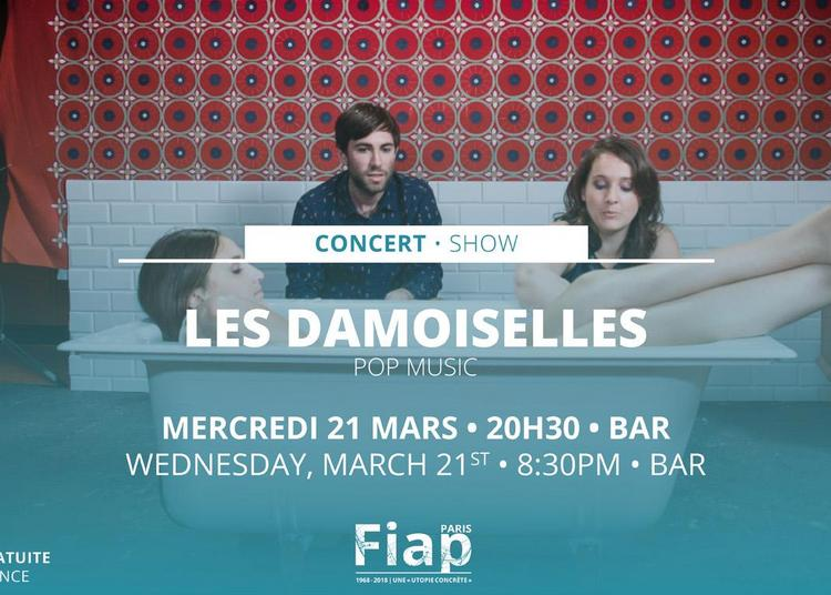Concert Les Damoiselles à Paris 14ème