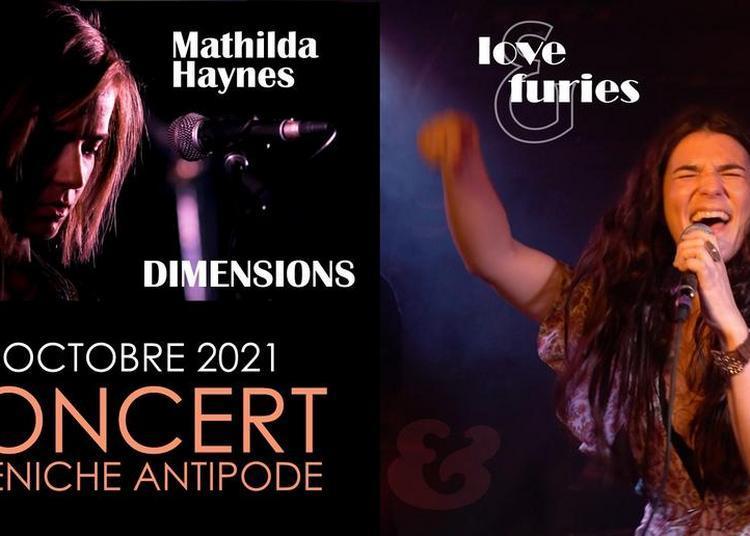 Love & Furies + Mathilda Haynes à Paris 19ème