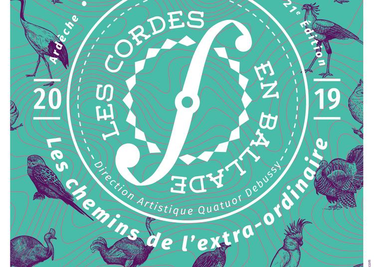 Concert « Marathon Russe » - Festival Les Cordes en ballade à Bourg saint Andeol