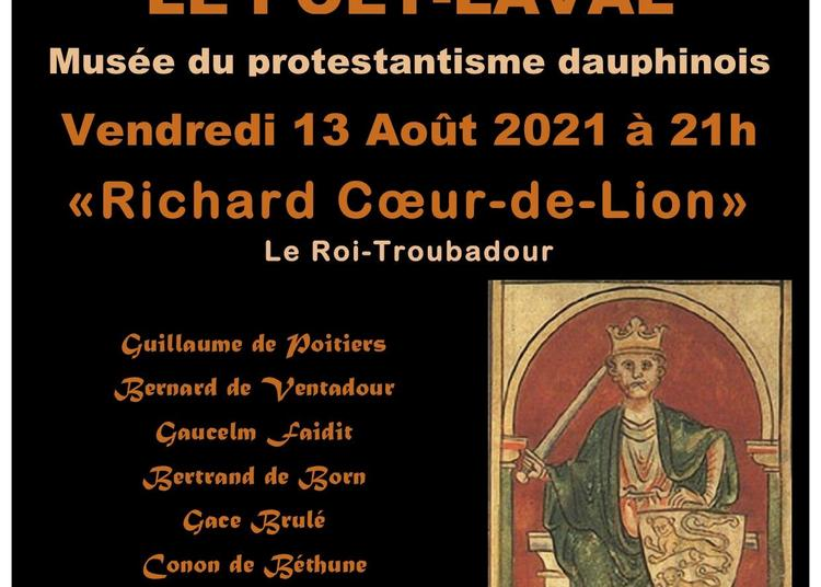 Concert Médiéval : « Richard Coeur-de-lion, Le Roi-troubadour » à Le Poet Laval