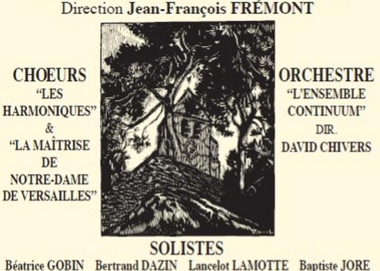 Concert Messe En Si De Bach à Grosrouvre