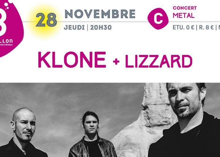 Concert metal : KLONE et LizZard à Orléans
