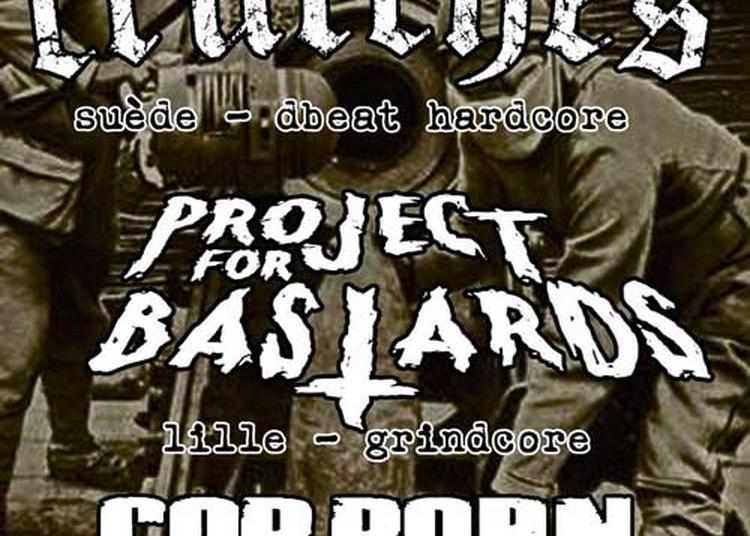 Concert Metal Punk Avec Crutches, Project For Bastards Et Cop Porn à Toulouse