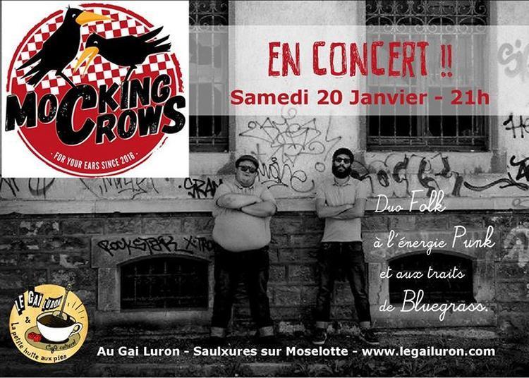 Concert Mocking Crows à Saulxures sur Moselotte
