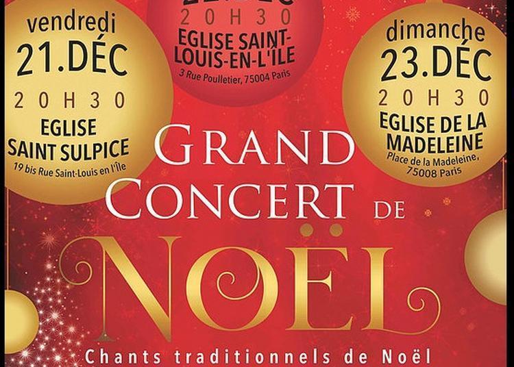 Concert Musique de Noël Choeur et Orchestre à Paris 6ème