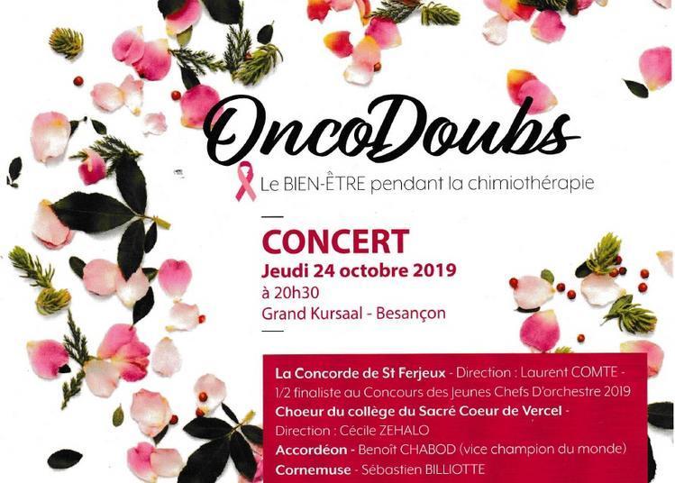 Concert Octobre Rose à Besancon