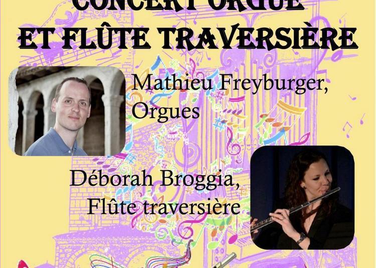 Concert Orgue et Flûte traversière à Nice