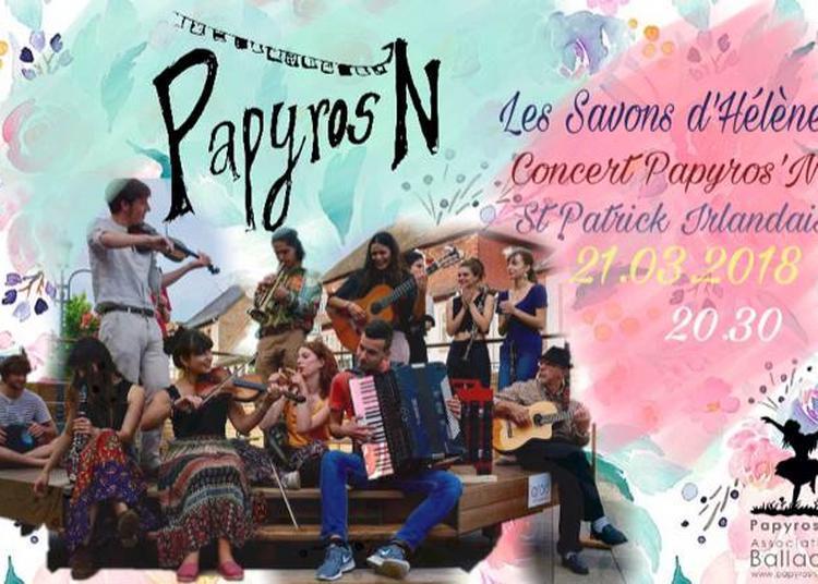 Concert Papyros'n St Patrick à Strasbourg