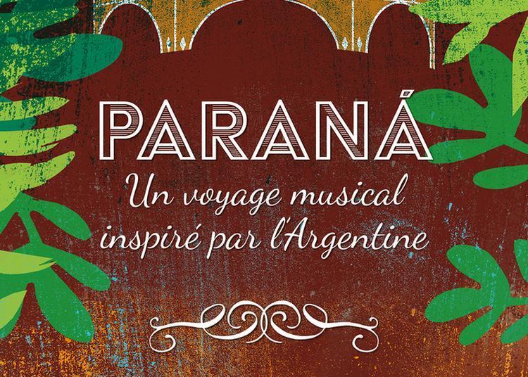 Concert Paraná Par L'orchestre De Poche à Villemur sur Tarn