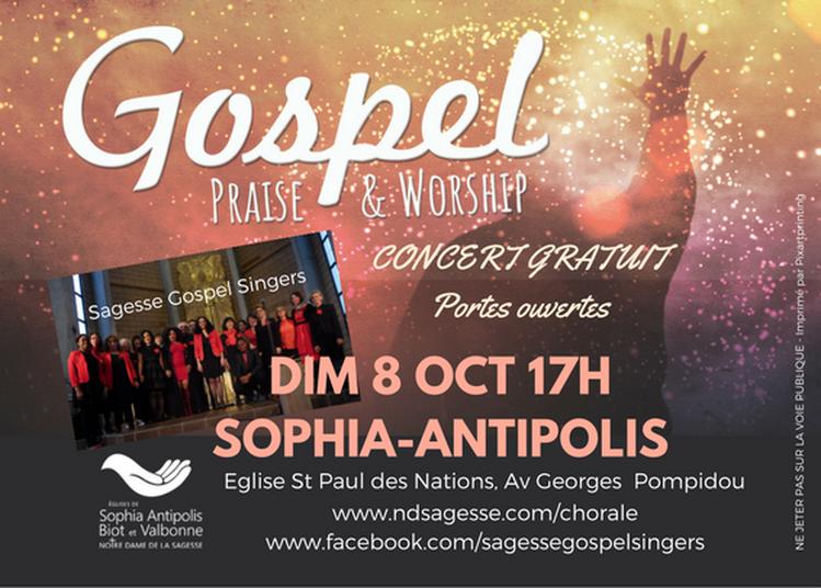 Concert Portes Ouvertes Mission Gospel à Sophia Antipolis
