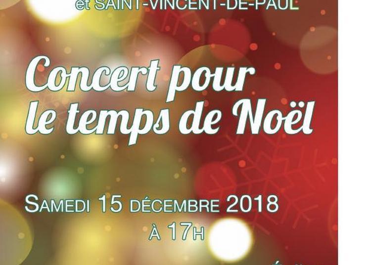 Concert pour le temps de Noël à Epinay sur Orge