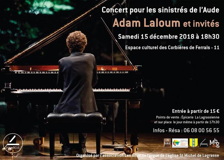 Concert pour les sinistrés de l'Aude à Ferrals les Corbieres