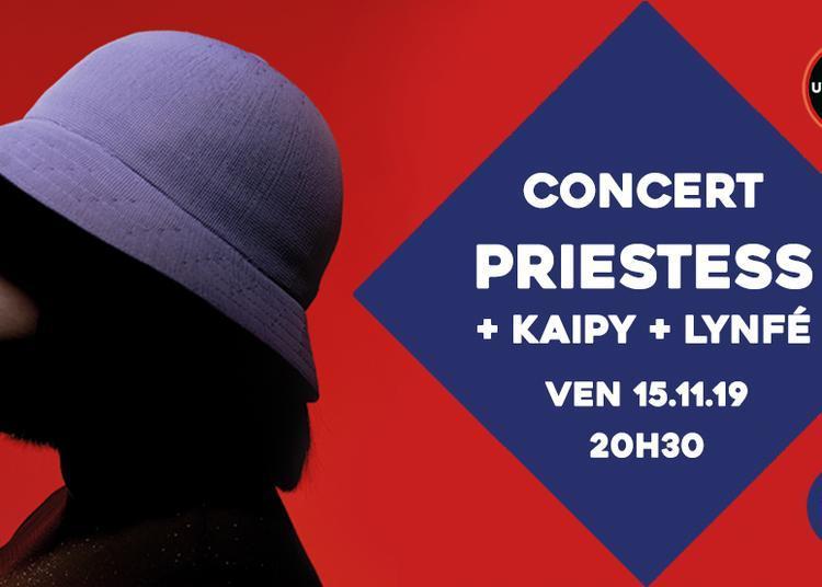 Concert : Priestess, Kaipy et Lynfé à Sceaux