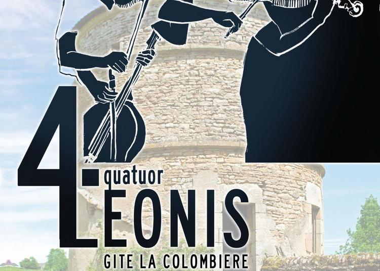 Concert quatuor Leonis à Lurcy le Bourg
