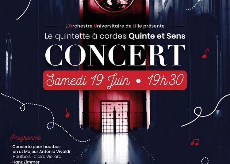 Concert Quinte & Sens à Lille