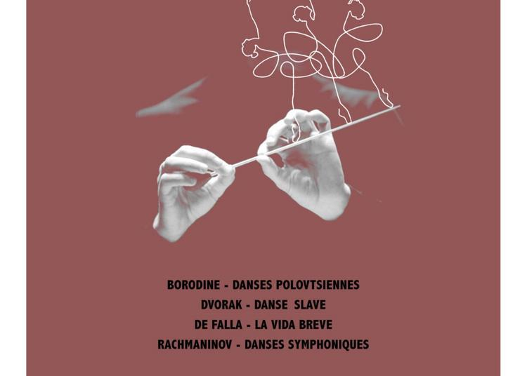 Concert Rachmaninov, Borodine, Dvorak à Paris 16ème