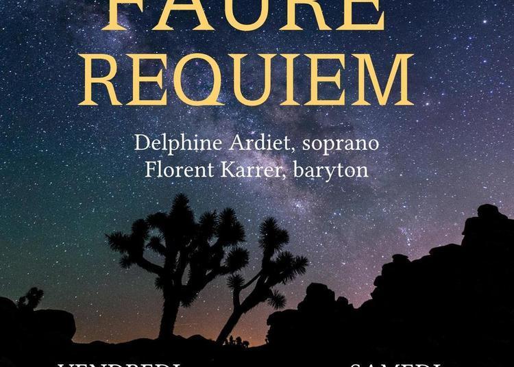 Concert Requiem de Fauré à Tullins