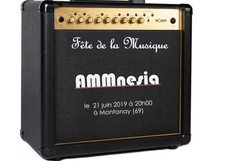 Concert Rock : Ammnesia + Groupes Invités ! à Montanay