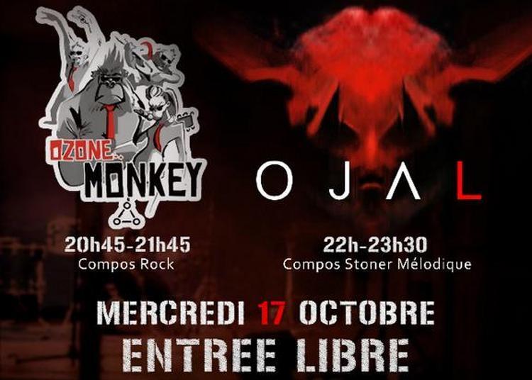 Concert Rock/blues Ozone Monkey et Ojal à Paris 11ème