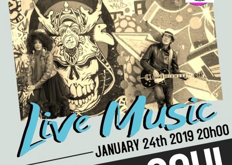 Concert Rock/Blues Soul Lester Jamison à Paris 2ème