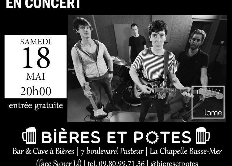 Concert rock de Lame à La Chapelle Basse Mer