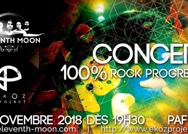 Concert Rock Progressif à l'Usine à Musique   Toulouse
