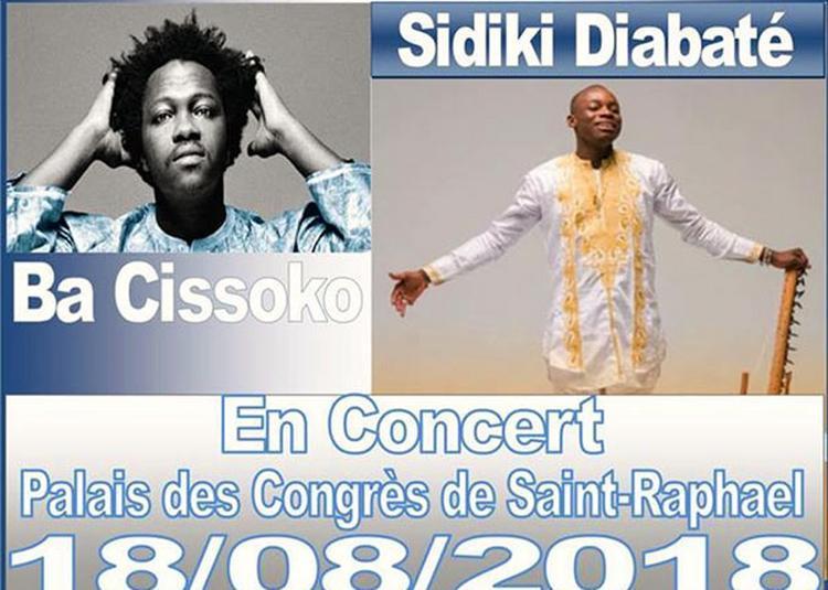 Concert Sidiki Diabate& Ba Cissoko à Saint Raphael