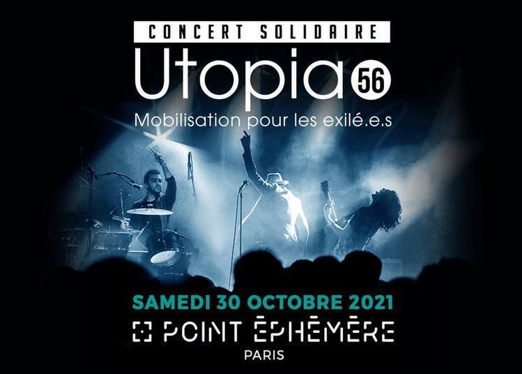 Concert Solidaire Utopia 56 / Telegraph · 21 Juin · Holseek à Paris 10ème