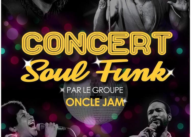 Concert soul et funk par Oncle Jam à Cormeilles