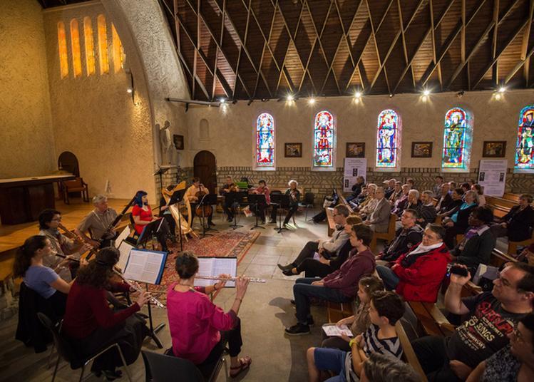Concert Sous Les Voûtes Lambrissées à Colombes