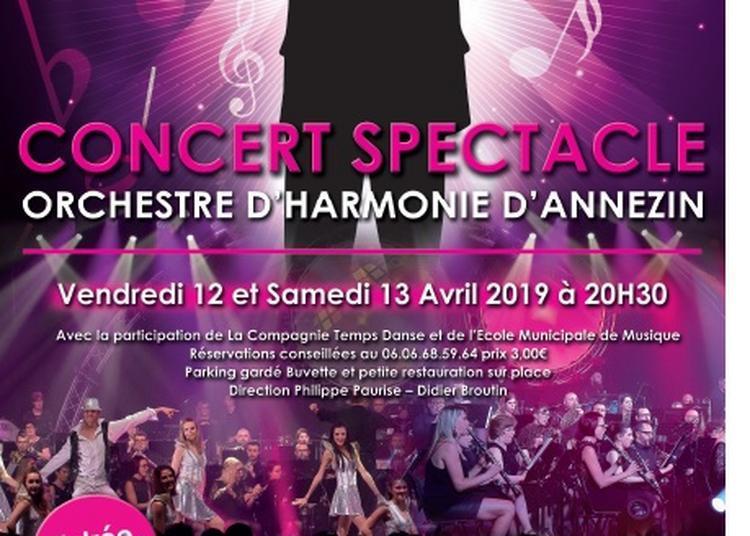 Concert Spectacle Orchestre Harmonie Annezin