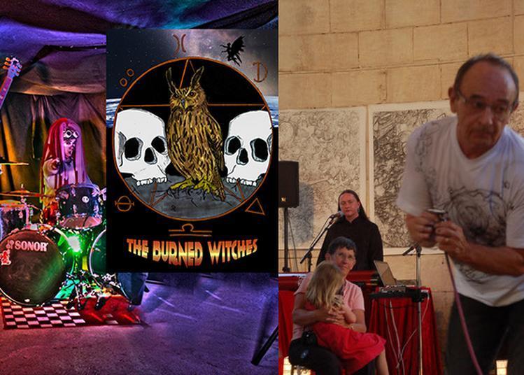 Concert : The Burned Witches et performance du peintre Luc Bernad à Aix en Provence