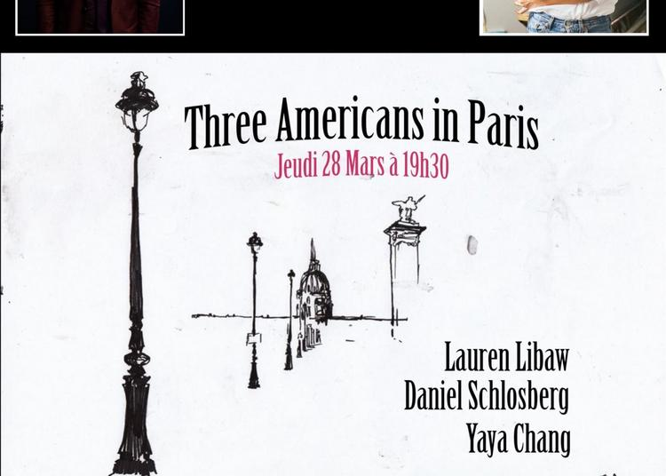 Three Americans in Paris à Paris 14ème