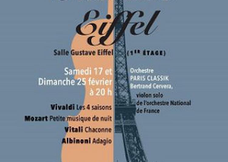 Concert Tour Eiffel à Paris 7ème