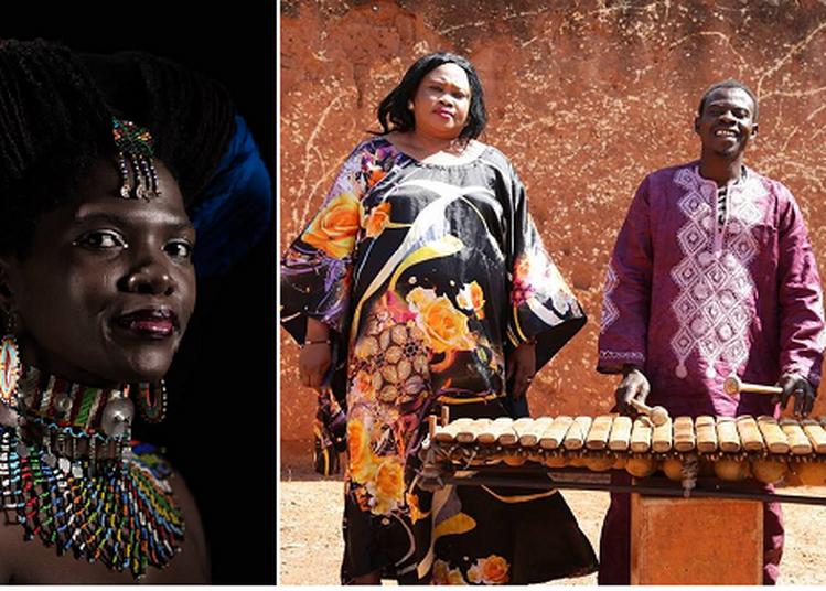 Trio Djelykan et Sibongile Mbambo à Marseille