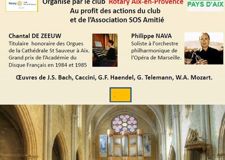 Concert Trompette Et Orgue à Aix en Provence