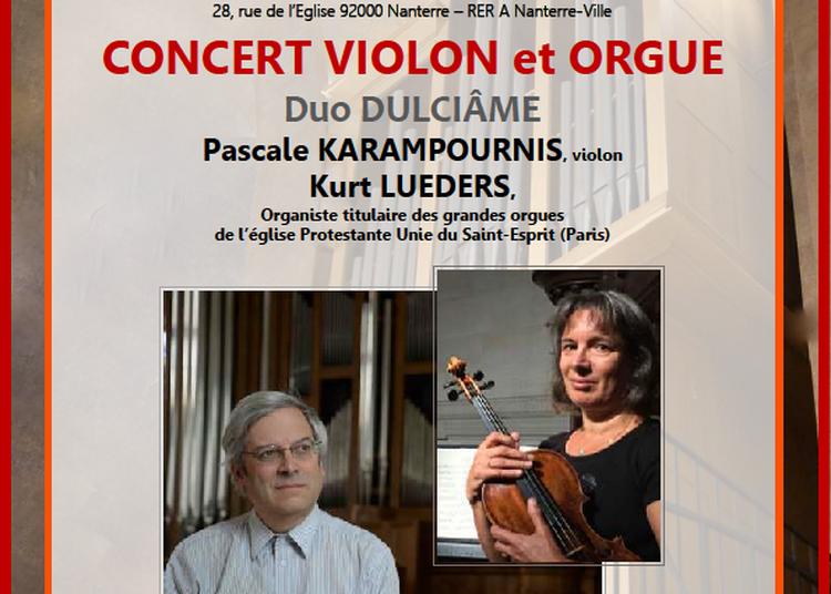 Concert Violon et Orgue à Nanterre