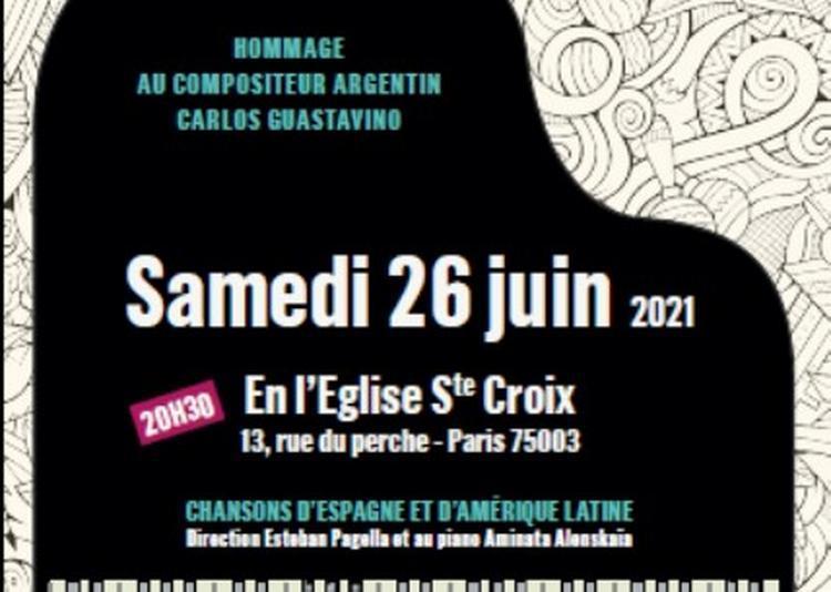 Concert Voces Latinas à Paris 3ème