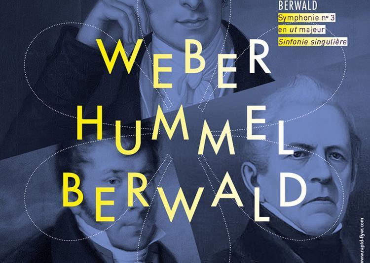 Weber, Hummel, Berwald à Clichy