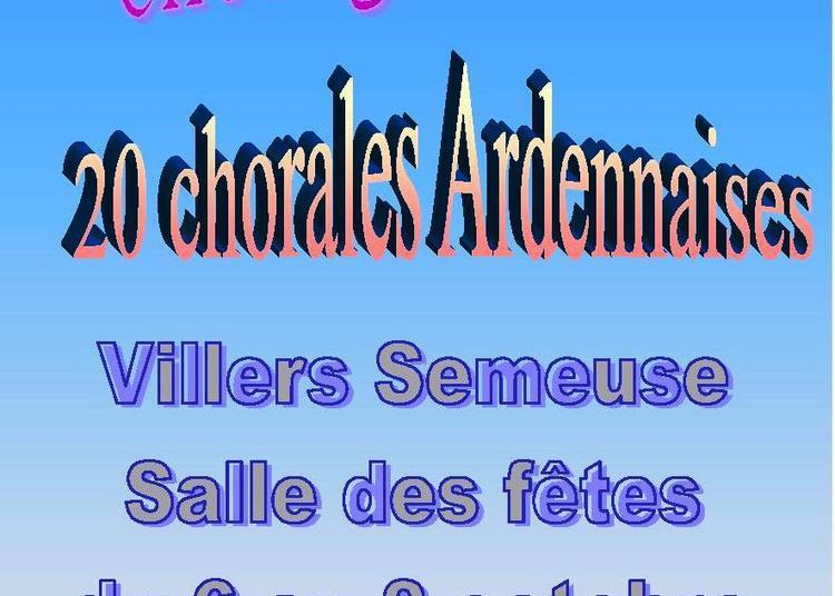 Concerts Chorales Ardennaises à Villers Semeuse