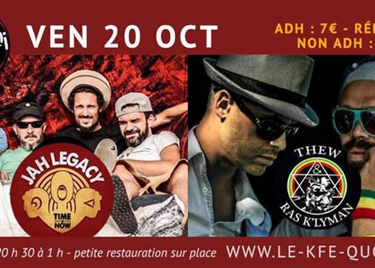 Concerts Jah Legacy et Thew & Ras K'Lyman à Forcalquier