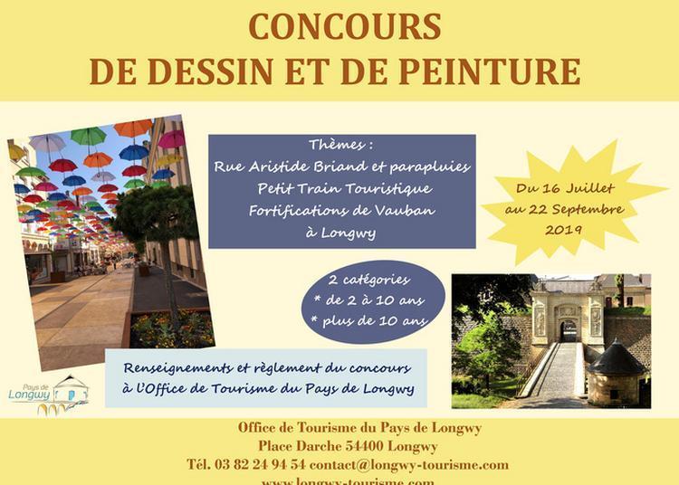 Concours De Peinture Et De Dessin à Longwy Haut
