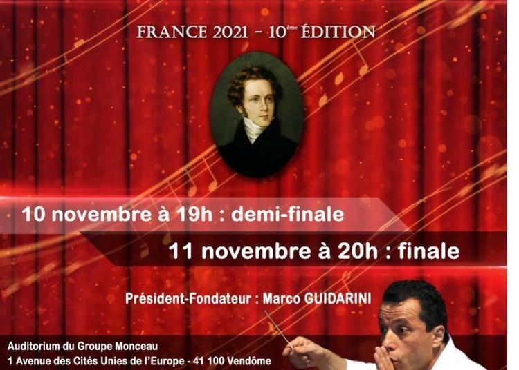 Concours International de Belcanto Vincenzo Bellini - 10° édition à Vendome