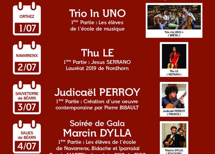 Concours & Masterclasses Festival International de guitare en Béarn 2020