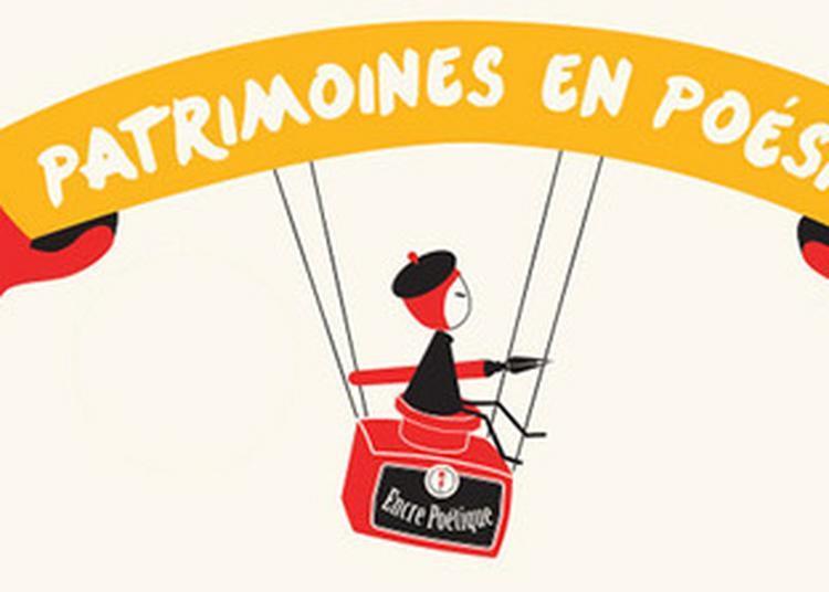 Concours Patrimoines En Poésie à Paris